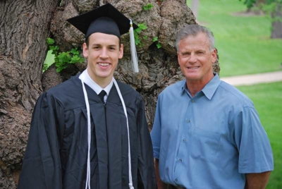 Dr. Barnard and his son Luke Barnard
